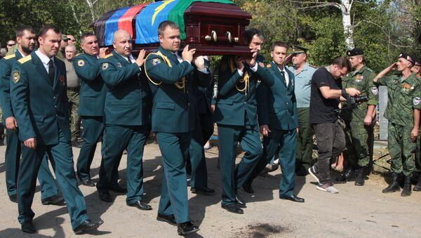 Zaharçenko'nun cenazesi toprağa verildi - Sputnik Türkiye