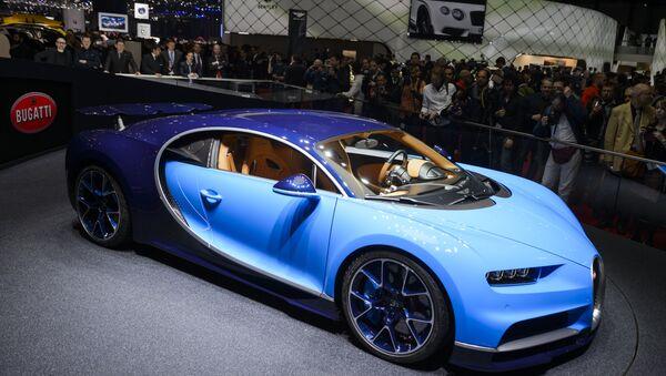 Bugatti Chiron isimli arabanın birebir kopyası Lego kullanılarak inşa edildi - Sputnik Türkiye