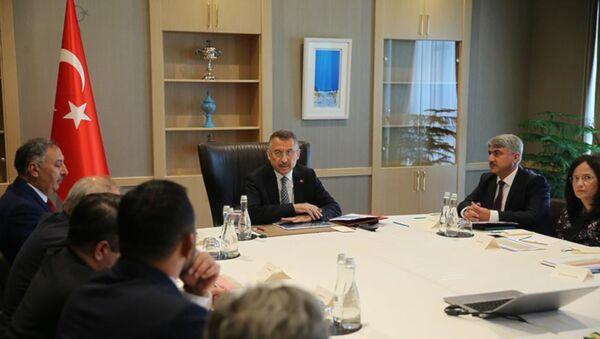 Suriye Koordinasyon Toplantısı Oktay başkanlığında yapıldı - Sputnik Türkiye