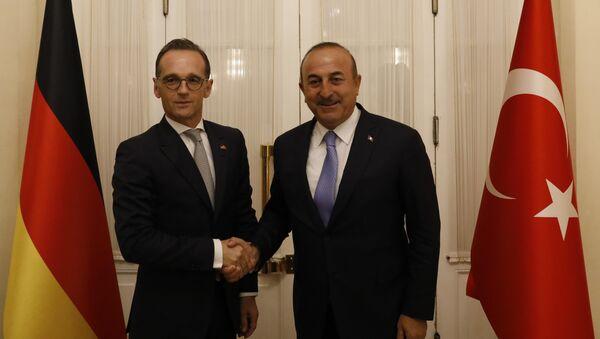 Ankara'da Maas-Çavuşoğlu görüşmesi - Sputnik Türkiye
