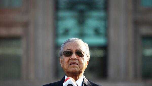 Malezya Başbakanı Mahathir Mohamad - Sputnik Türkiye