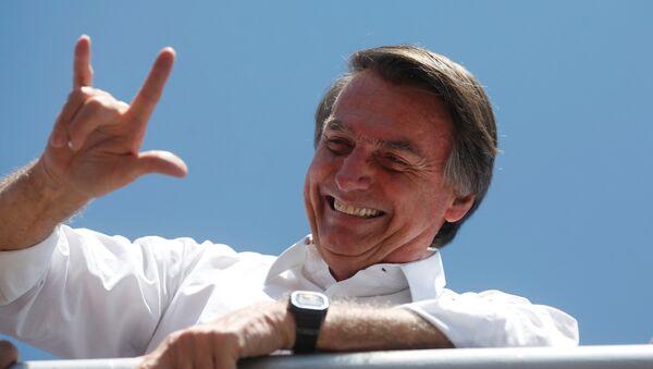 Jair Bolsonaro, candidato a la Presidencia de Brasil - Sputnik Türkiye