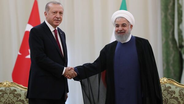 Recep Tayyip Erdoğan - Hasan Ruhani - Sputnik Türkiye