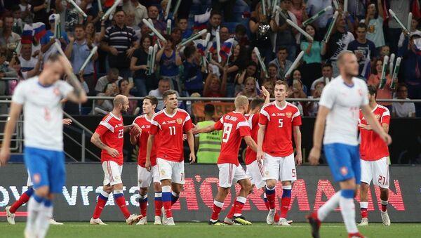 Rusya ile Çekya hazırlık maçı - Sputnik Türkiye