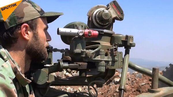 Suriye ordusu Lazkiye'de casus İHA düşürdü - Sputnik Türkiye