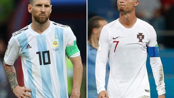 Cristiano Ronaldo-Lionel Messi - Sputnik Türkiye