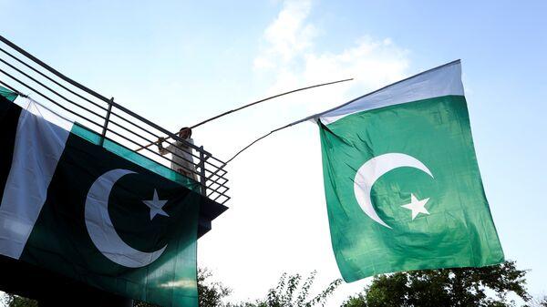 Pakistan bayrağı - Sputnik Türkiye