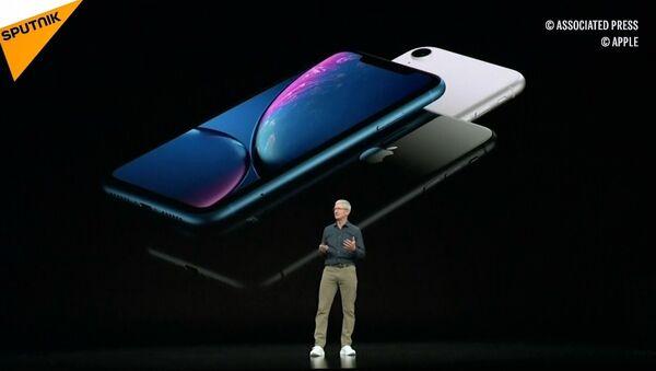 Apple'dan üç yeni iPhone modeli tanıtımı - Sputnik Türkiye