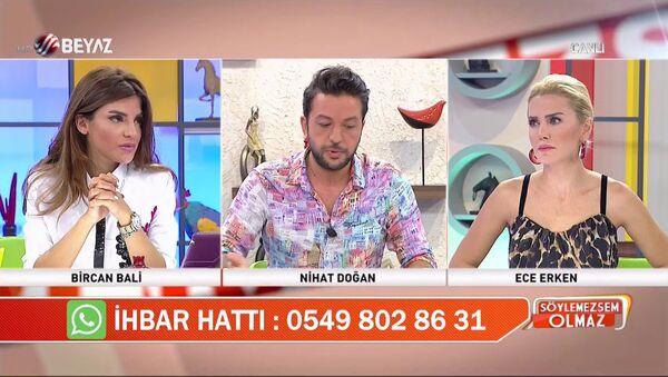 Nihat Doğan - Ece Erken - Sputnik Türkiye