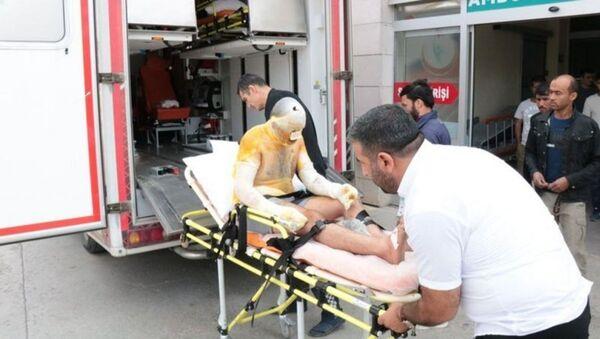 Tuz ocağında patlama: 3 işçi yaralı, işletme sahibi gözaltında - Sputnik Türkiye