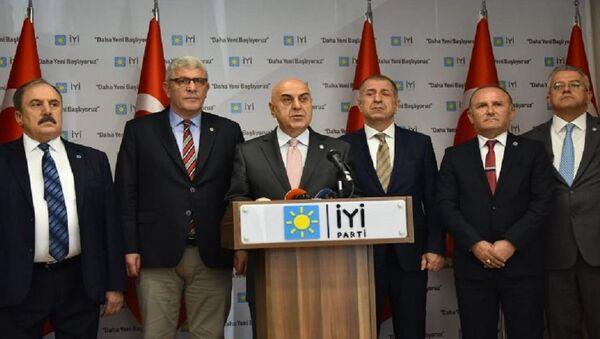 Cihan Paçacı, İYİ Parti - Sputnik Türkiye