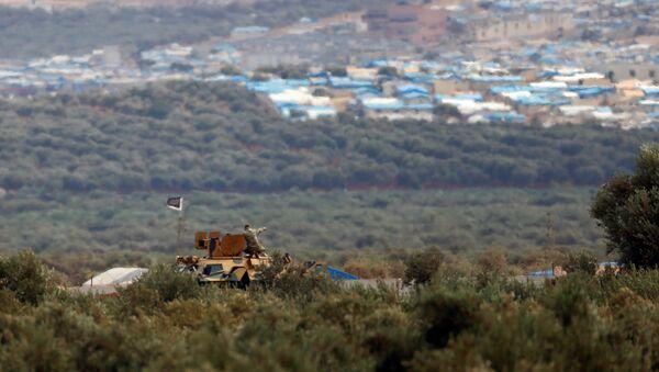 İdlib'e bağlı Atme kasabasının Reyhanlı'dan görünüşü - Sputnik Türkiye