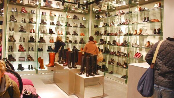 ayakkabı mağaza - Sputnik Türkiye