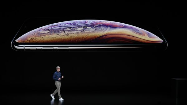 Apple CEO'su Tim Cook, iPhone XS ve XS Max tanıtımında - Sputnik Türkiye