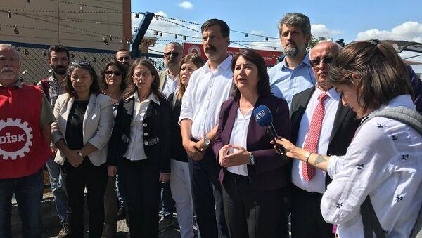 DİSK, HDP, basın açıklaması, 3. havalimanı - Sputnik Türkiye
