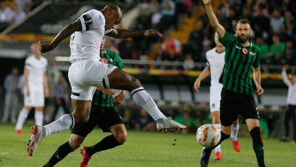 Tarihinde ilk kez Avrupa kupalarına katılan Akhisarspor, Krasnodar karşısında - Sputnik Türkiye