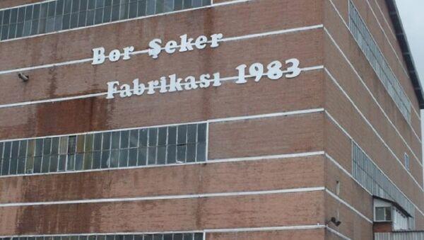 Bor Şeker Fabrikası - Sputnik Türkiye
