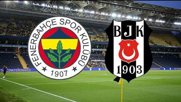 Fenerbahçe-Beşiktaş Logo - Sputnik Türkiye