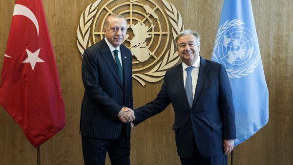 Erdoğan ile Guterres ile görüştü - Sputnik Türkiye