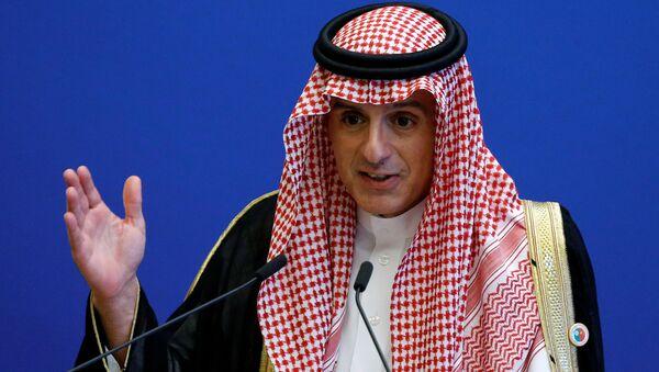 Suudi Dışişleri Bakanı Adil el Cubeyr - Sputnik Türkiye