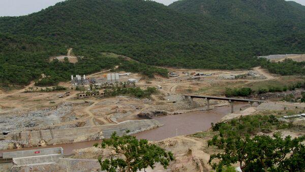 Etiyopya'daki Hedasi Barajı'nın inşaatı - Sputnik Türkiye