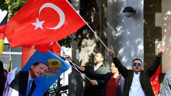 Köln - Erdoğan - Sputnik Türkiye