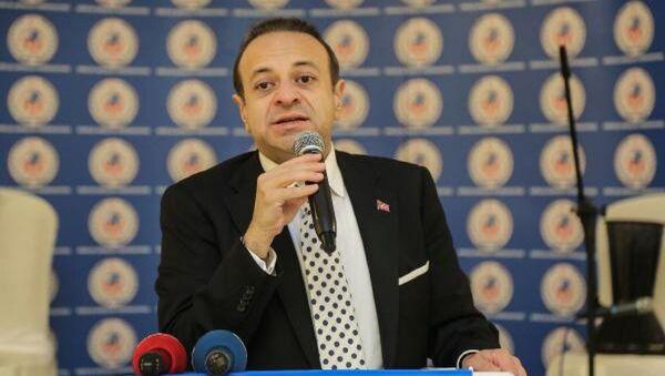 Avrupa Birliği ve Devlet eski Bakanı Egemen Bağış - Sputnik Türkiye