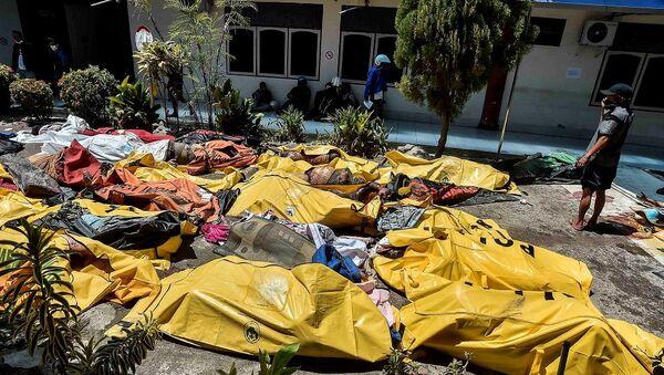 Endonezya, deprem, tsunami - Sputnik Türkiye