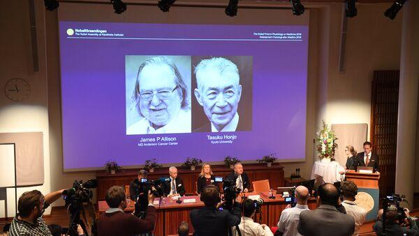 2018 Nobel Tıp Ödülü - Sputnik Türkiye