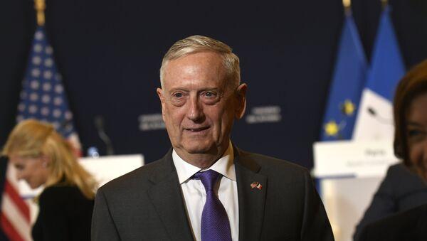 ABD Savunma Bakanı Jim Mattis - Sputnik Türkiye