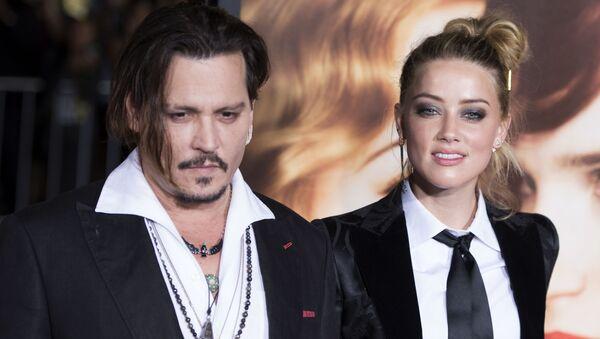 Jonny Depp - Amber Heard - Sputnik Türkiye