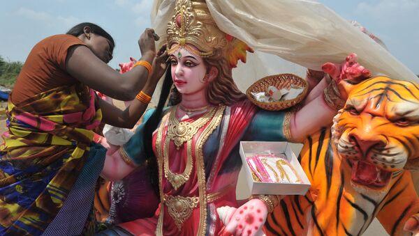 Hindu ritüelleri - hinduizm festivali - Sputnik Türkiye