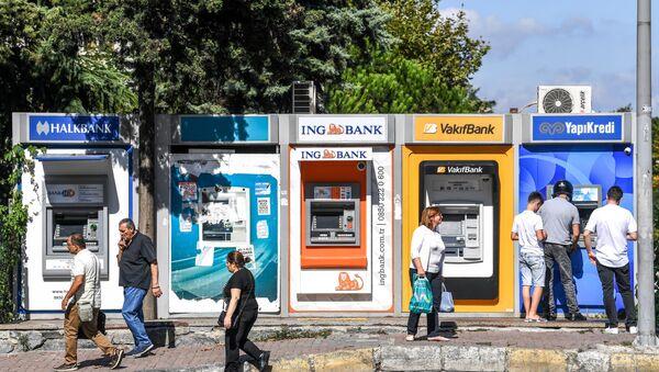 Banka - ATM - Sputnik Türkiye