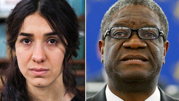 Nadia Murad ve Denis Mukwege - Sputnik Türkiye