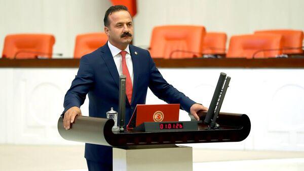 İYİ Parti Grup Başkanvekili ve İstanbul Milletvekili, Ülkü Ocakları Eski Başkanlarından Yavuz Ağıralioğlu - Sputnik Türkiye