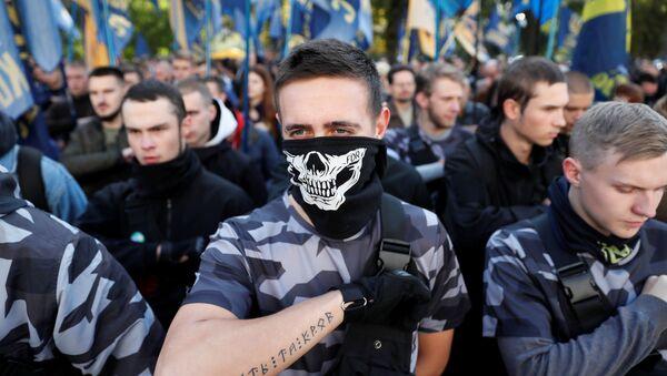 Ukraynalı milliyetçiler - Sputnik Türkiye
