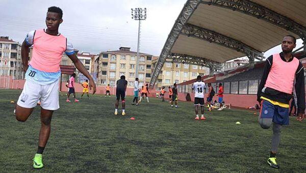 Türkiye'nin ilk Afrikalı amatör futbol takımı yolda - Sputnik Türkiye