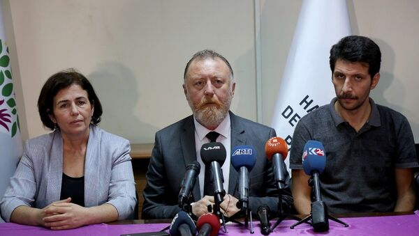 HDP Eş Genel Başkanı Sezai Temelli - Sputnik Türkiye
