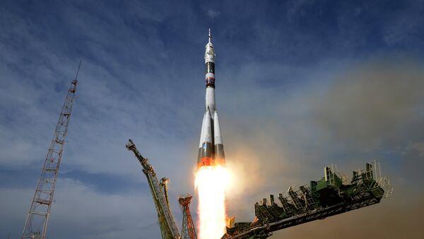 Soyuz MS-09 uzay aracı - Sputnik Türkiye