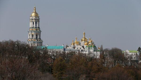 Ukrayna'nın başkenti Kiev'deki Pechersk Lavra Manastırı - Sputnik Türkiye