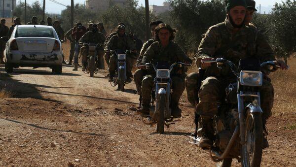 Kasım 2016'da Halep'in batısında cirit atan cihatçıların artık Suriye'de İdlib'den başka kalesi kalmadı. - Sputnik Türkiye