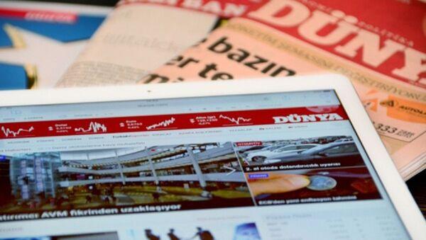 Dünya gazetesi - Sputnik Türkiye