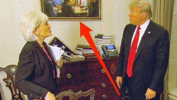 CBS kanalının '60 Dakika' programında, sunucu Lesley Stahl, zaman zaman Donald Trump ile hararetli tartışmalara girdi. - Sputnik Türkiye