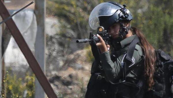 İsrailli kadın polis - Sputnik Türkiye