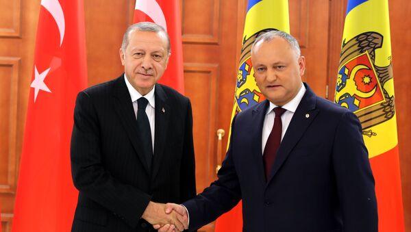 Erdoğan'ın Moldova ziyaretinden kareler - Sputnik Türkiye