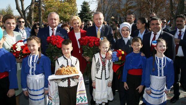 Erdoğan Moldova'da - Sputnik Türkiye