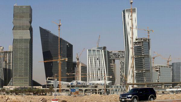 Suudi başkenti Riyad'ın Kral Abdullah Finans Bölgesi - Sputnik Türkiye