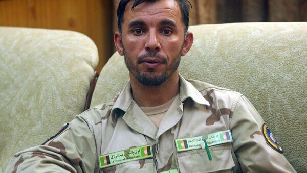 Afganistan - Kandahar Emniyet Müdürü General Abdul Razık Açikzey - Sputnik Türkiye