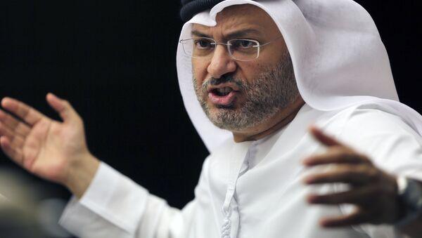 Birleşik Arap Emirlikleri (BAE) Dışişleri'nden Sorumlu Devlet Bakanı Enver Muhammed Gargaş - Sputnik Türkiye