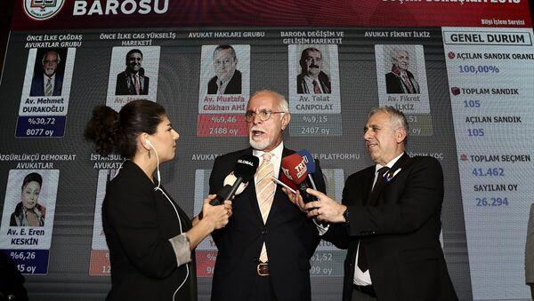 İstanbul Barosu Başkanlığı'na Mehmet Durakoğlu bir kez daha seçildi. - Sputnik Türkiye